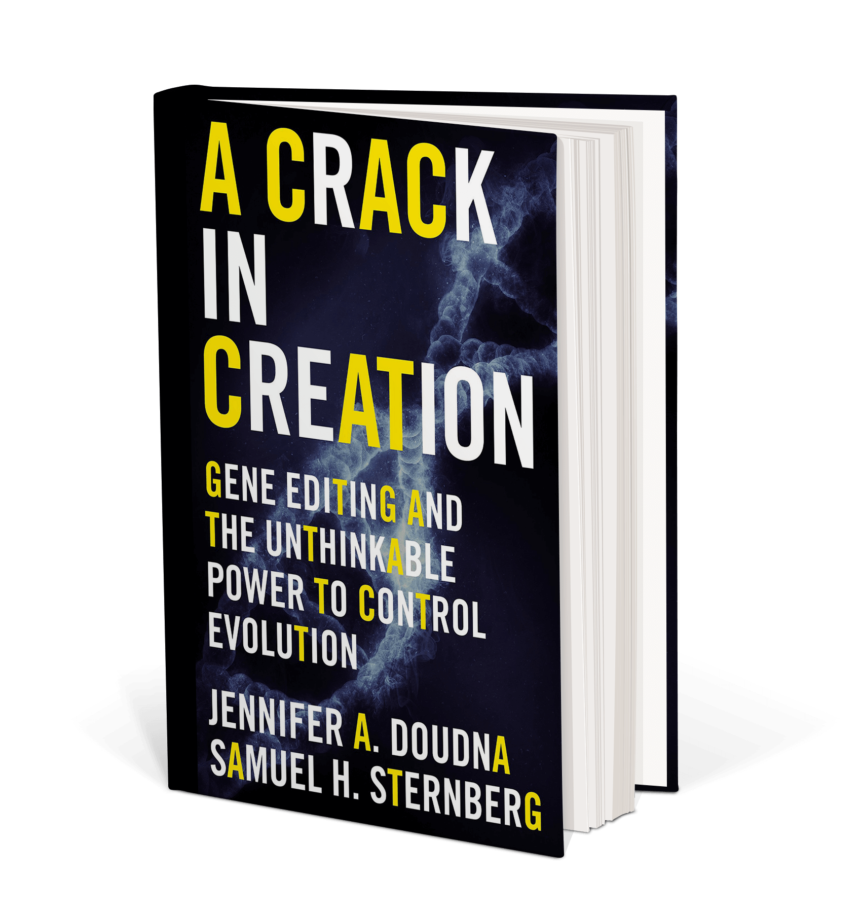 Cover art A Crack in Creation: Gene Editing and the Unthinkable Power to Control Evolution