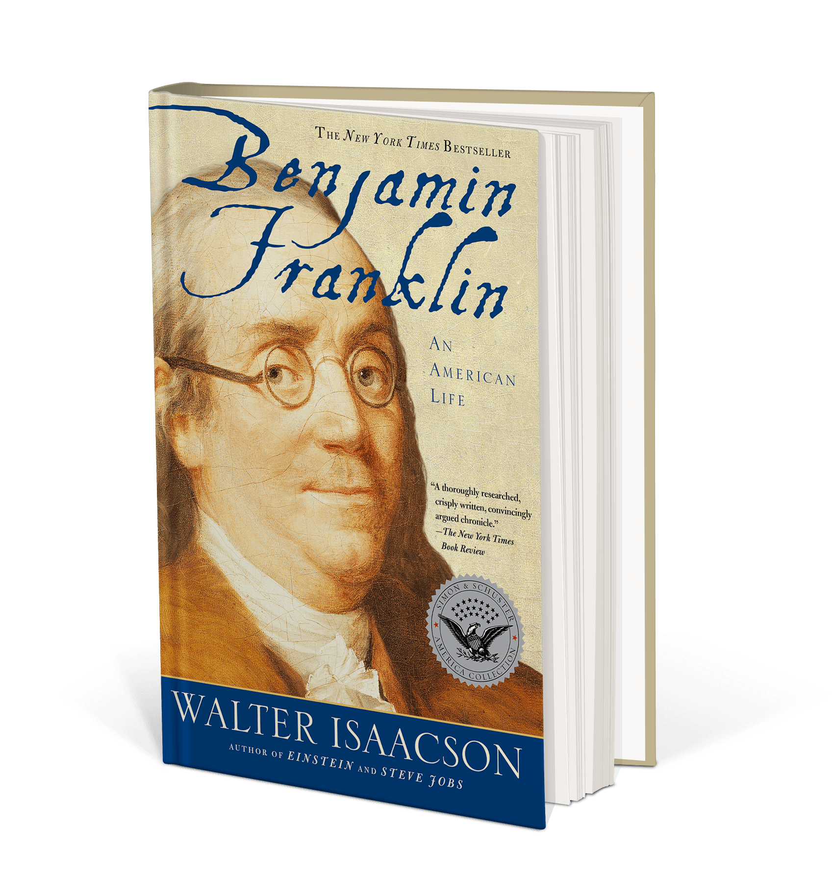 Cover art for Benjamin Franklin : An American Life