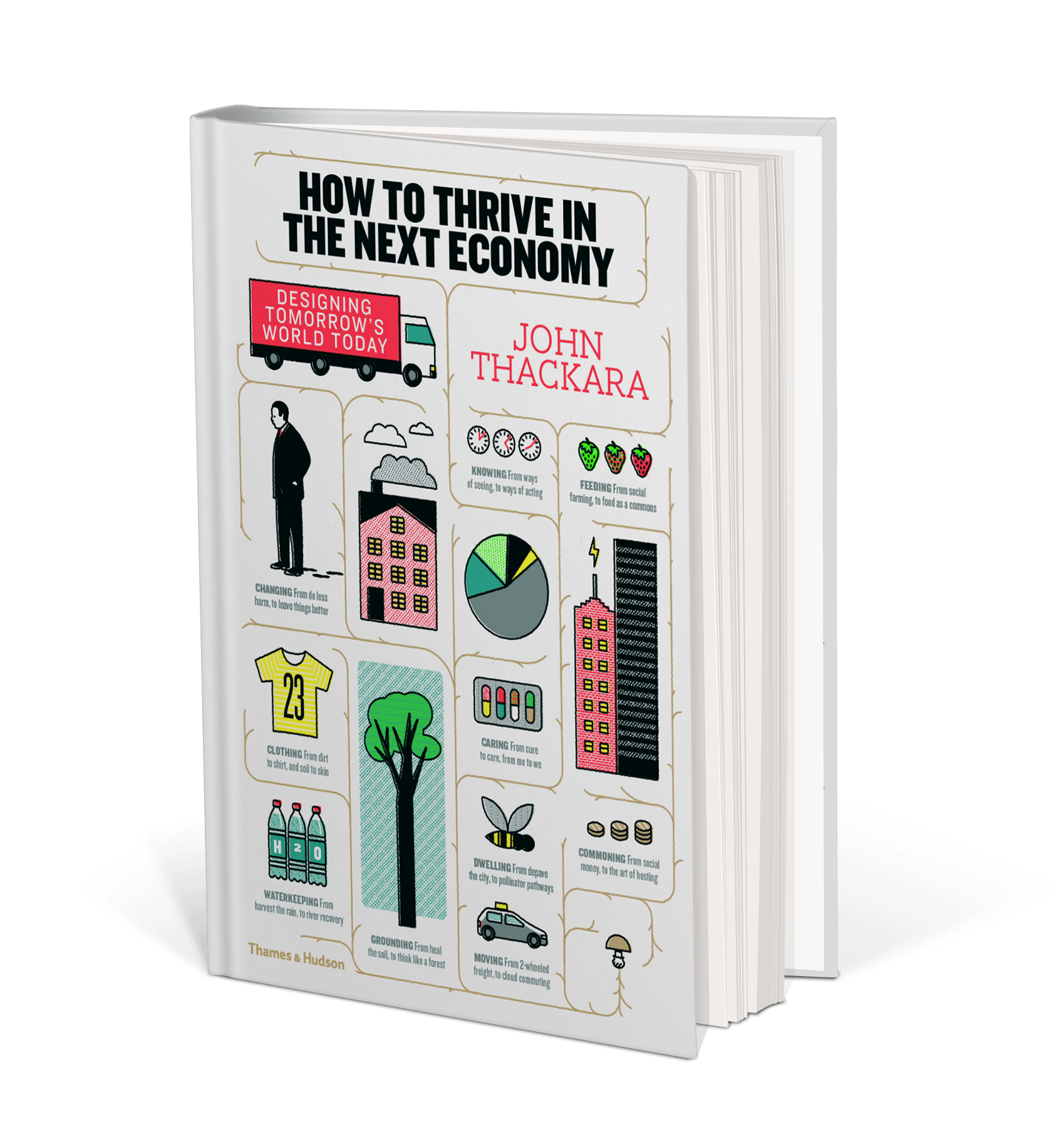 Cover art for How to Thrive in the Next Economy : Designing Tomorrow's World Today