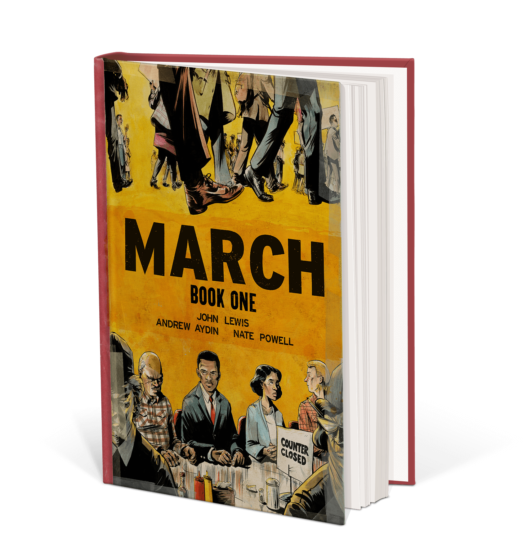 Cover art for March