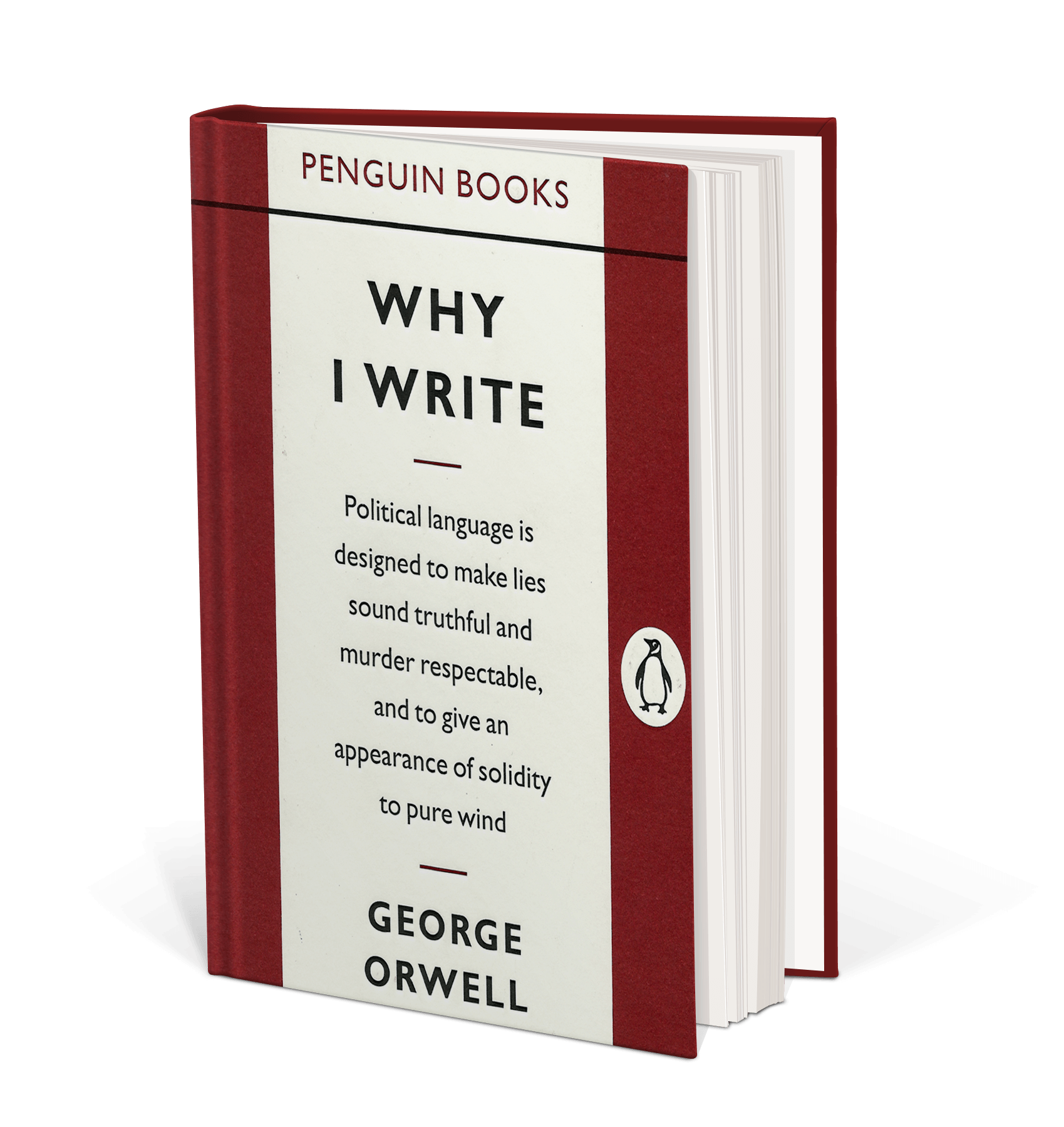 Cover art for Why I Write