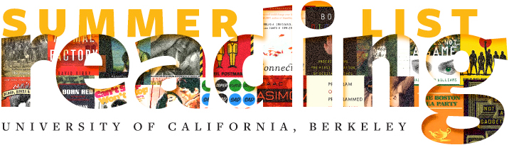 Text label says Summer Reading List University of California, Berkeley